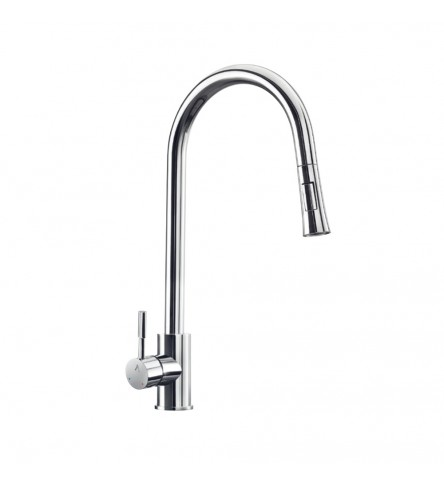 FLO2 Single Lever Pulldown Sink Mixer
