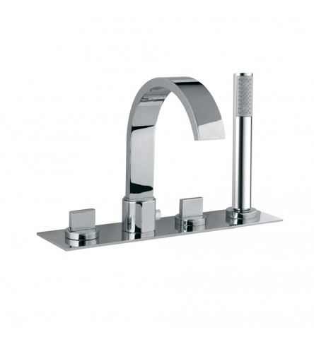 4-Hole Bath and Shower Mixer