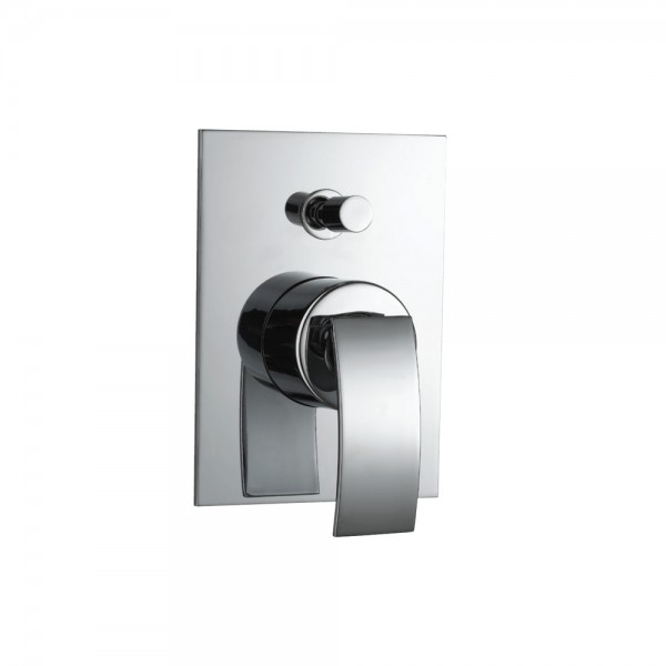 Single Lever Hi Flow In-wall Diverter