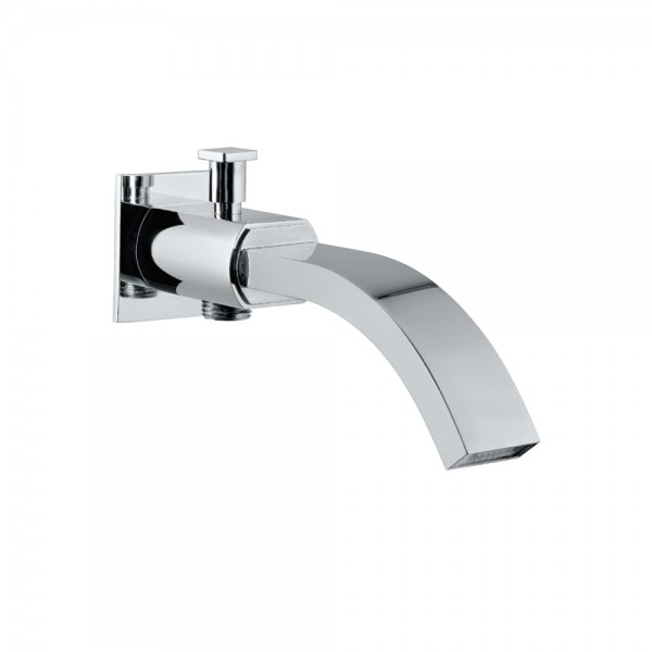 Cellini Bath Spout with Diverter & Wall Flange