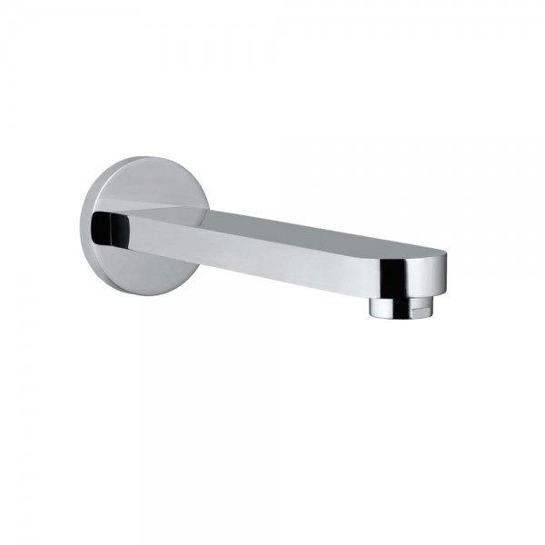 Travina Bath Spout with Wall Flange