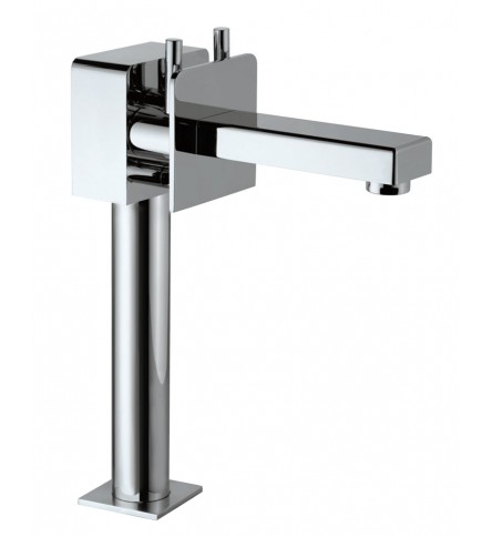 Monoblock High Neck Basin Mixer